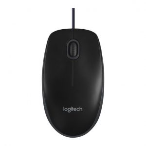 עכבר  Logitech Optical USB B100