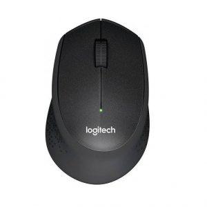עכבר אלחוטי Logitech M330 Silent Plus Retail בצבע שחור