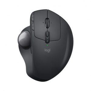 עכבר אלחוטי Logitech MX Ergo בצבע שחור