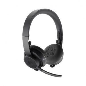 אוזניות בלוטות' + מיקרופון Logitech ZONE Wirless Headsets