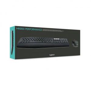 סט מקלדת ועכבר אלחוטיים Logitech Performance MK850 Retail